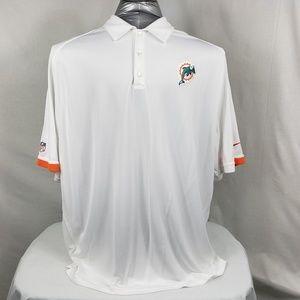 Nike Dri-Fit Miami Dolphins Polo Short Sleeve